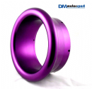"Purple Anodised Billet 5"" Turbo Trumpet"